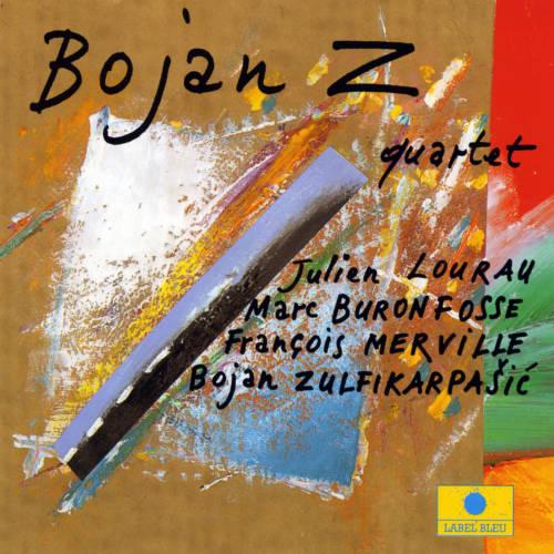 Jaquette de l'album «Bojan Z Quartet»