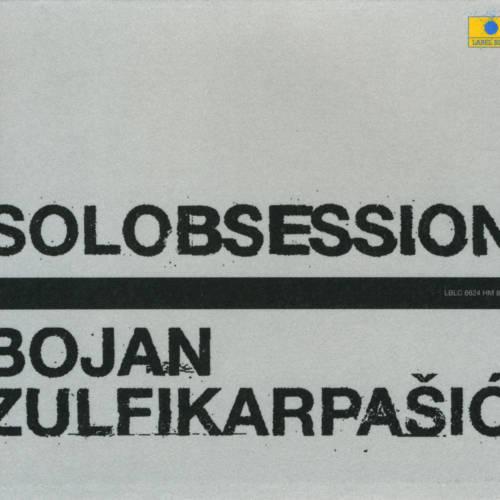 Jaquette de l'album «Solobsession»