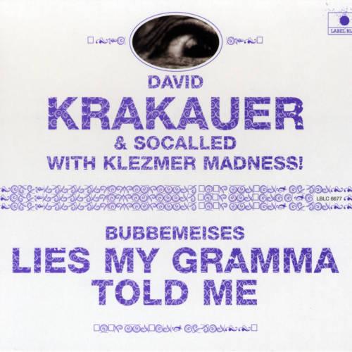 Jaquette de l'album «Bubbemeises – Lies My Gramma Told Me (feat. Socalled & Klezmer Madness!)»