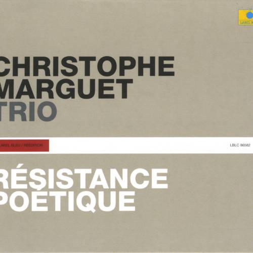 Jaquette de l'album «Résistance poétique»