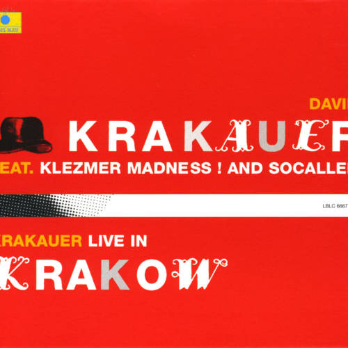 Jaquette de l'album «Krakauer Live In Krakow (feat. Klezmer Madness! & Socalled)»