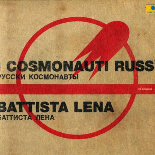 Jaquette de l'album «I cosmonauti russi / Les cosmonautes russes»