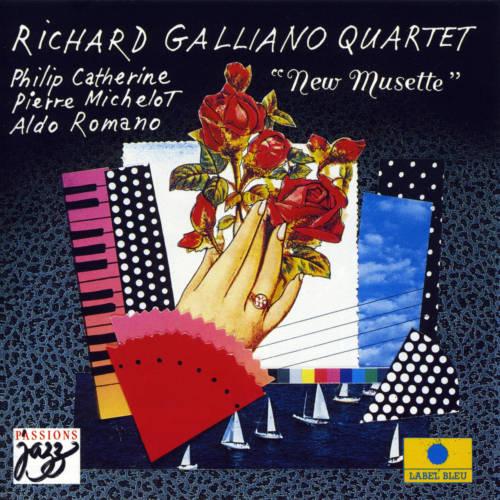 Jaquette de l'album «New Musette (feat. Phillip Catherine, Pierre Michelot & Aldo Romano)»