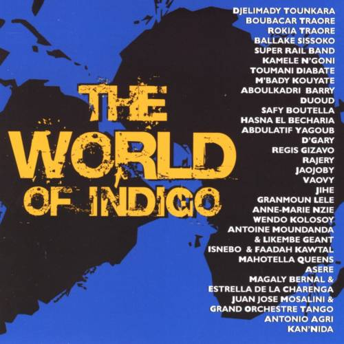 Jaquette de l'album «The World of Indigo»